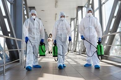 coronavirus Napoli-sanificazione