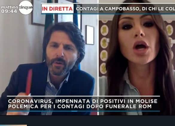 Boom contagi comunità rom: il caso Campobasso. A Mattino 5 il Sindaco Gravina
