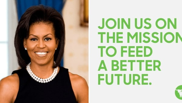 Michelle Obama vegan friendly, per un'America in salute