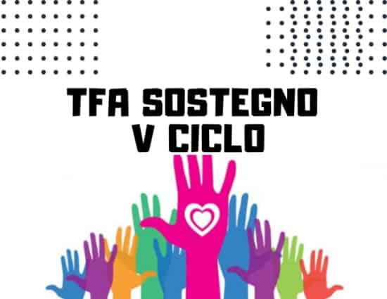 TFA sostegno V ciclo