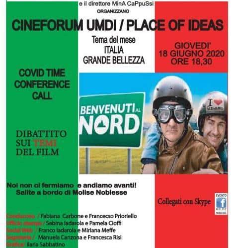 Benvenuti al Nord Cineforum Umdi Covid Time per la Promozione territoriale
