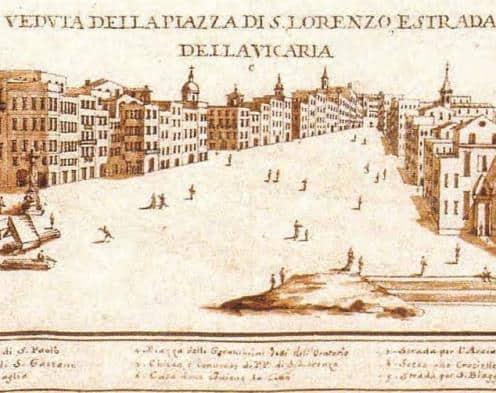 Mappe rare a Napoli