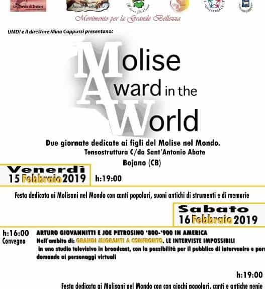 MAW Molise Award in the World - Bojano
