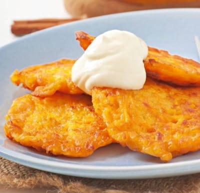 Frittelle veg con farina di ceci