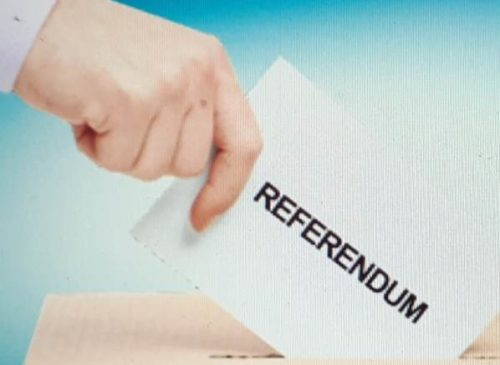 Referendum riduzione parlamentari a settembre