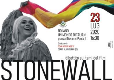 Stonewall, Antonello Sannino al Cineforum Umdi Covid Time. Diritti Civili, discriminazioni di genere con Molise Noblesse e Filitalia