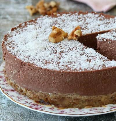 Cheesecake Veg senza cottura. Torte raw per la salute