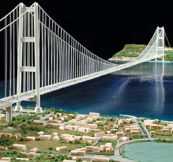 Progetto Ponte del Mediterraneo - Enzo Siviero