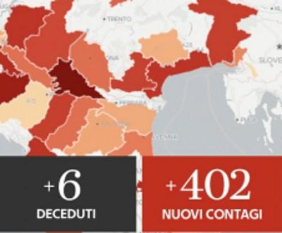 Coronavirus Italia, aumentano contagi. Report del ministro della Salute