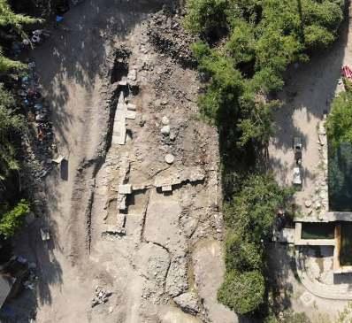 Scoperto gigantesco santuario di Apollo a San Casciano dei Bagni