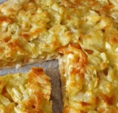 Torta rustica ricetta estiva veg con cetrioli e carote