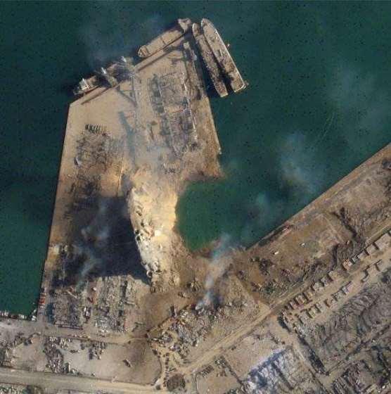 esplosione beirut 137 morti porto alto