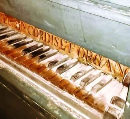 san giovanni in galdo organo