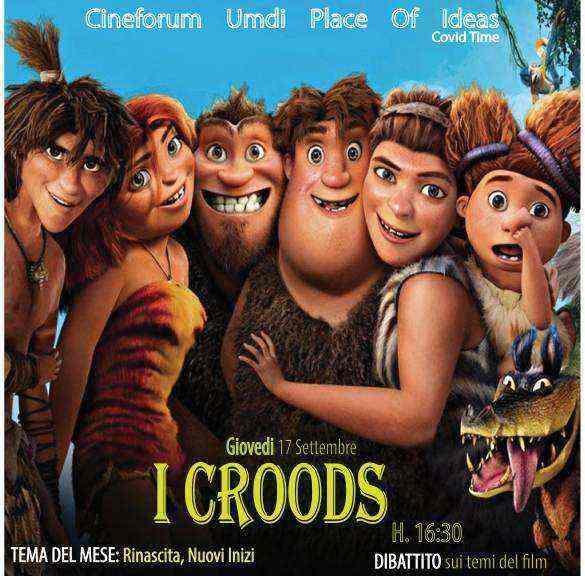 I Croods al Cineforum Umdi. Una nuova avventura per Molise Noblesse