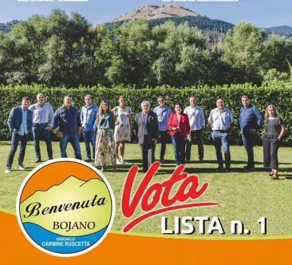 Benvenuta Bojano, elezioni 2020, programma e candidati