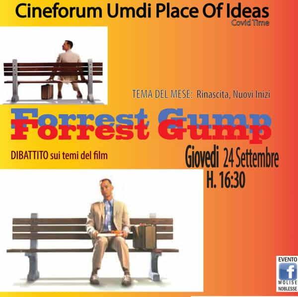 Forrest Gump al Cineforum Umdi