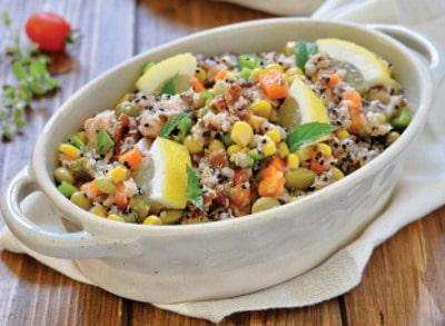 Insalata di quinoa con verdure. Ecco come prepararla