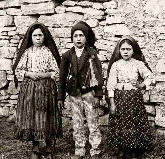 100 anni dalla prima apparizione di Fatima