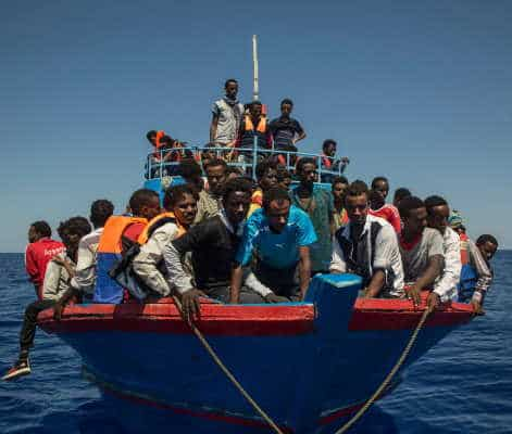 226 migranti salvati dalla Guardia Costiera italiana