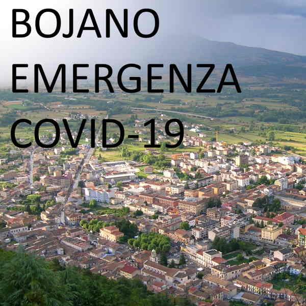 Bojano, emergenza Covid