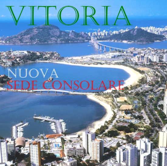 Brasile nuova sede consolare a Vitoria