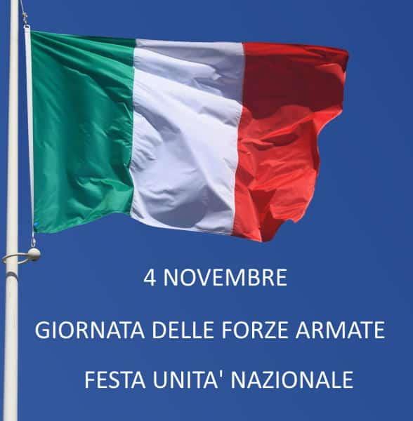 4 novembre Giornata Forze Armate