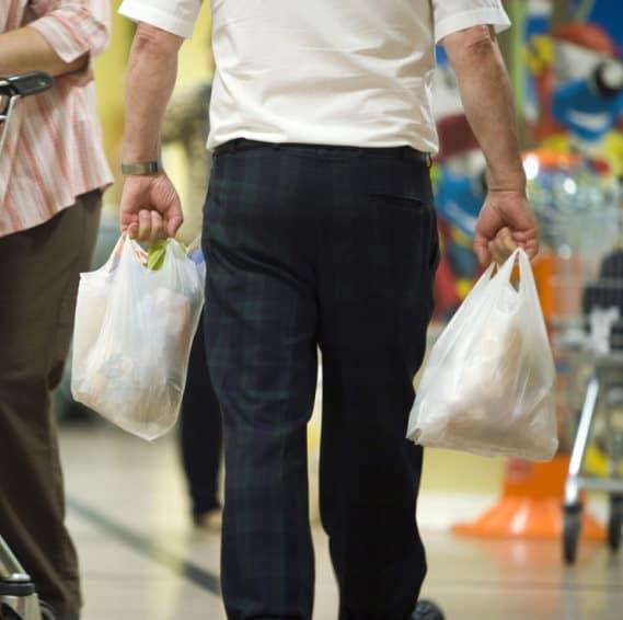 Addio ai sacchetti di plastica