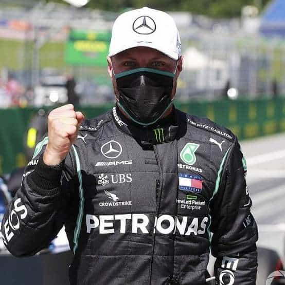 Dominio Mercedes a Imola: pole per Bottas, male le Ferrari