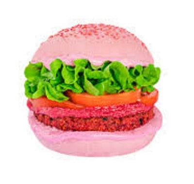 Primo hamburger per Barbie. E' rosa e pure vagano