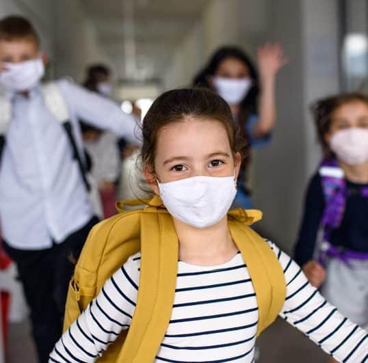 Rischio Coronavirus per bambine