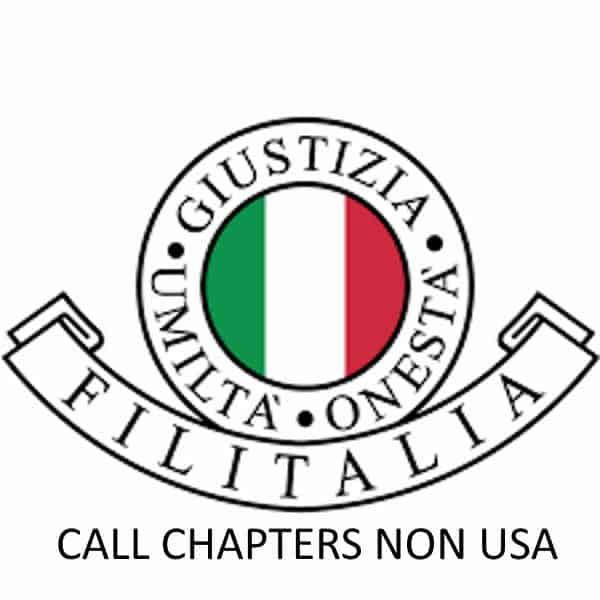 Filitalia Call Chapter non Usa