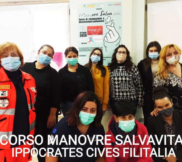Manovre Salvavita a Bojano