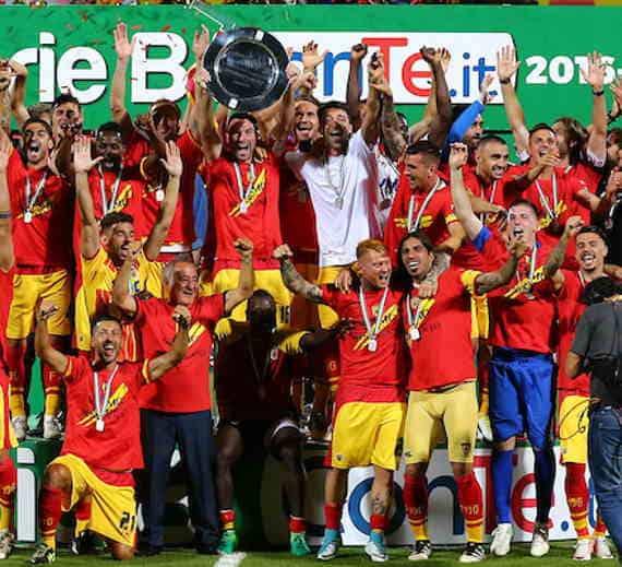 Benevento calcio approda