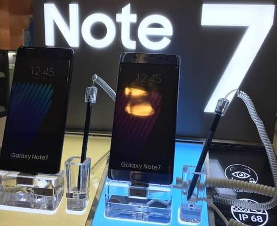 Samsung Galaxy Note 7 vietato a bordo degli aerei Alitalia