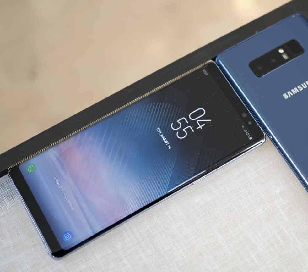 Samsung Galaxy Note 8 le novità