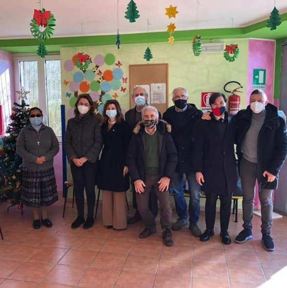 Lions Club Molisani uniti per consegnare doni ai bambini dell'Orfanotrofio di Cercepiccola