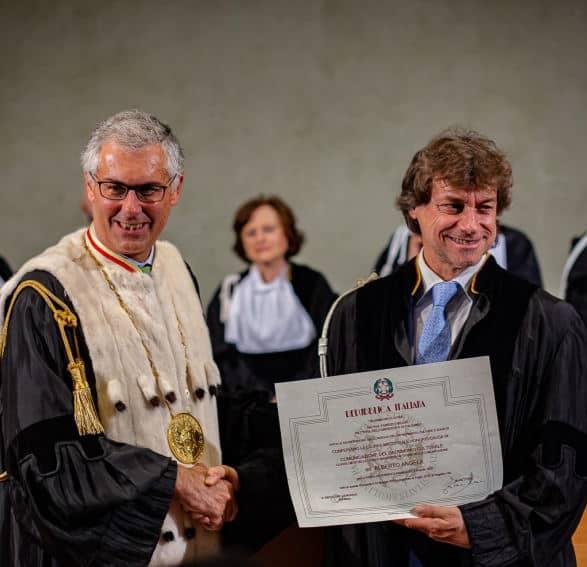 Alberto Angela laurea honoris