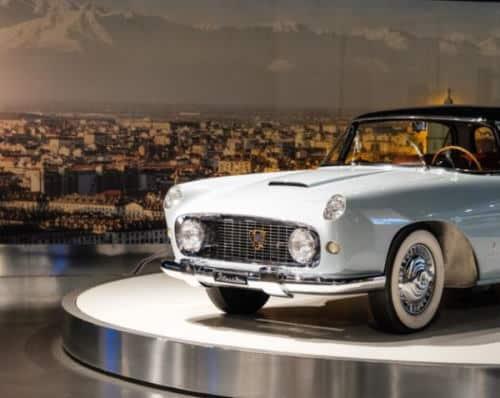 Alfa Romeo al Museo Nazionale dell'automobile di Torino. Incroci Italia-Usa, dal dopoguerra al boom economico