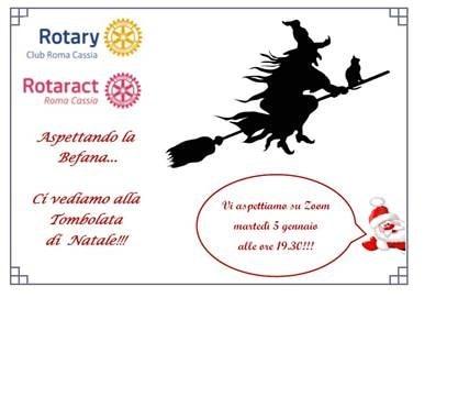Tombolata Rotary su Zoom. Compra una cartella per sostenere il mondo devastato dal Covid