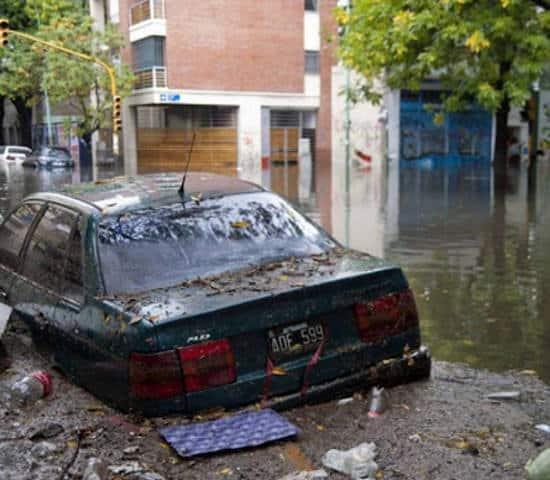 Alluvione Argentina sale
