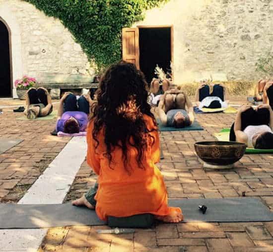 Anima Festival yoga
