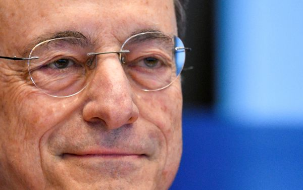 Draghi infonde speranza