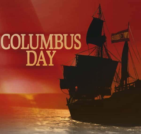 Columbus Day bannato