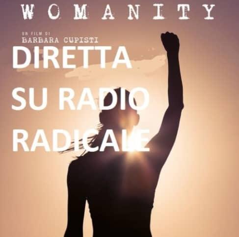 Womanity su Radio Radicale. Diretta video per la Giornata Internazionale della Donna