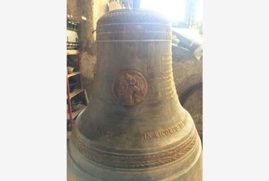 Dedicata campana a Dante: da Agnone a Ravenna per risuonare durante il settimo centenario del poeta.