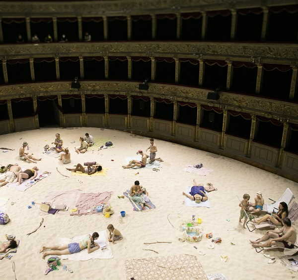 Sun & Sea opera performance al Teatro Argentina a Roma