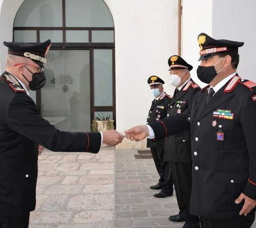 Generale Cerrina saluta Molise