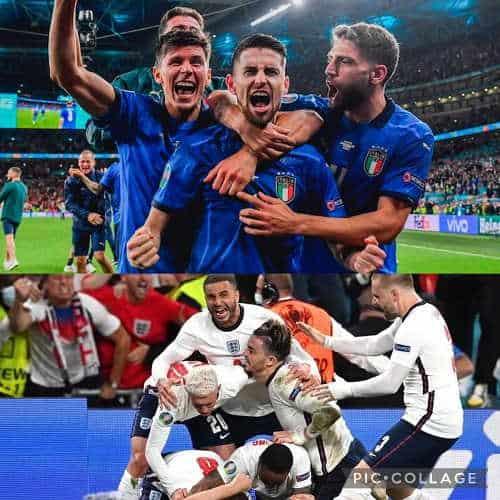 Italia-Inghilterra finale Euro2020