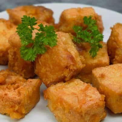 Ricetta antipasto Tofu fritto