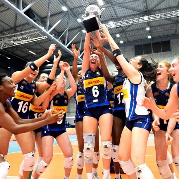 U20 Volley campionesse mondiali italiane battono la Serbia in finale